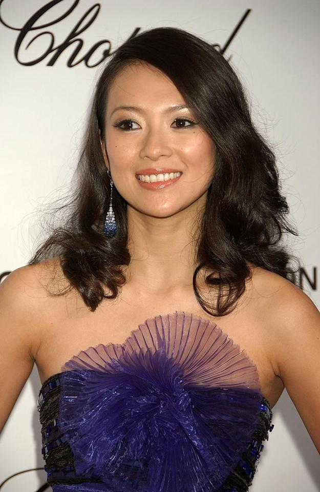"""<a href=""""http://movies.yahoo.com/movie/contributor/1800424122"""">Ziyi Zhang</a> attend the 16th Annual Elton John AIDS Foundation Oscar Party at the Pacific Design Center in West Hollywood - 02/24/2008"""