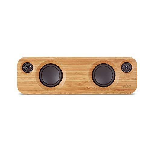 """<p><strong>House of Marley</strong></p><p>amazon.com</p><p><strong>$99.95</strong></p><p><a href=""""https://www.amazon.com/dp/B01DKGP5QO?tag=syn-yahoo-20&ascsubtag=%5Bartid%7C2140.g.35285082%5Bsrc%7Cyahoo-us"""" rel=""""nofollow noopener"""" target=""""_blank"""" data-ylk=""""slk:Shop Now"""" class=""""link rapid-noclick-resp"""">Shop Now</a></p><p>Your music or podcast-loving Valentine will totally appreciate this portable bluetooth speaker. Plus, it comes in a light, wooden casing, so you know it will also be aesthetically pleasing in your home, too. </p>"""
