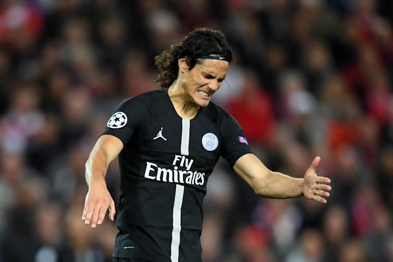 Cavani comes up his former club Napoli for the first time: Getty Images