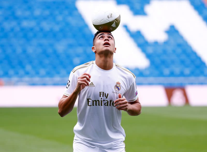 Real Madrid teenager Reinier completes loan switch to Dortmund