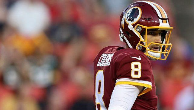 Largely considered a top-10 fantasy QB, Kirk Cousins may struggle to produce early in 2017.