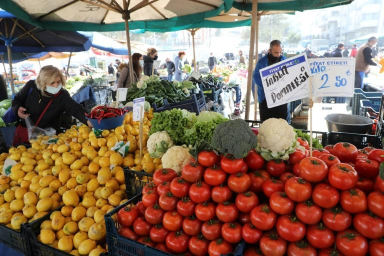 Turkey's annual inflation rate had shot up to 15.6 percent by February, while the Turkish lira has lost more than half its value against the dollar since the start of 2018