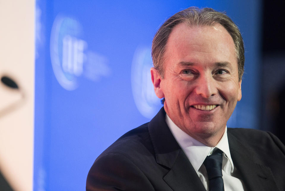 Morgan Stanley chairman and chief executive James Gorman said this week: 'If you can go into a restaurant in New York City, you can come into the office'. Photo: Joshua Roberts/Reuters