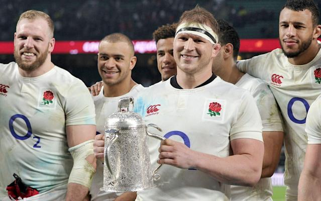 <span>Dylan Hartley has led England to huge success</span> <span>Credit: REX FEATURES </span>