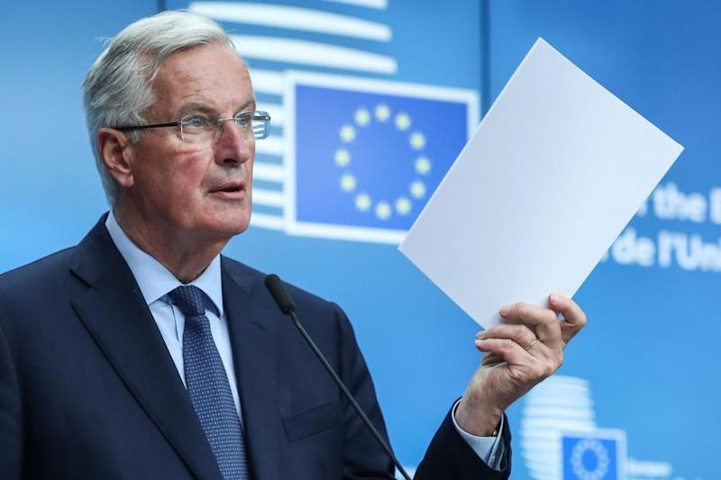 European Union's chief Brexit negotiator Michel Barnier questioned Theresa May's White Paper (EPA)