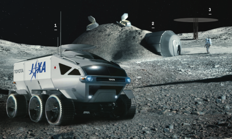 Photo credit: Toyota, ESA, Foster + Partners, NASA
