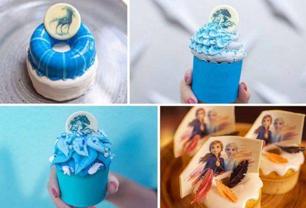 PHOTO: A collage of 'Frozen 2' treats available at Walt Disney World Resorts this fall. (Disney Parks )
