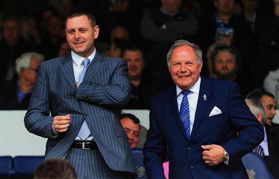 Into the frying pan: The Peterborough director of football found TV fame in the 90s