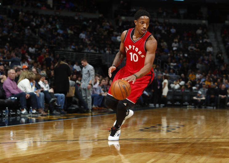 DeMar DeRozan cannot be traded until Jan. 15. (AP)
