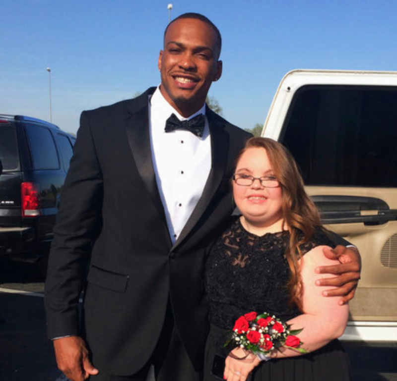 Don Jones Accompanies Special Needs Student to High School Prom