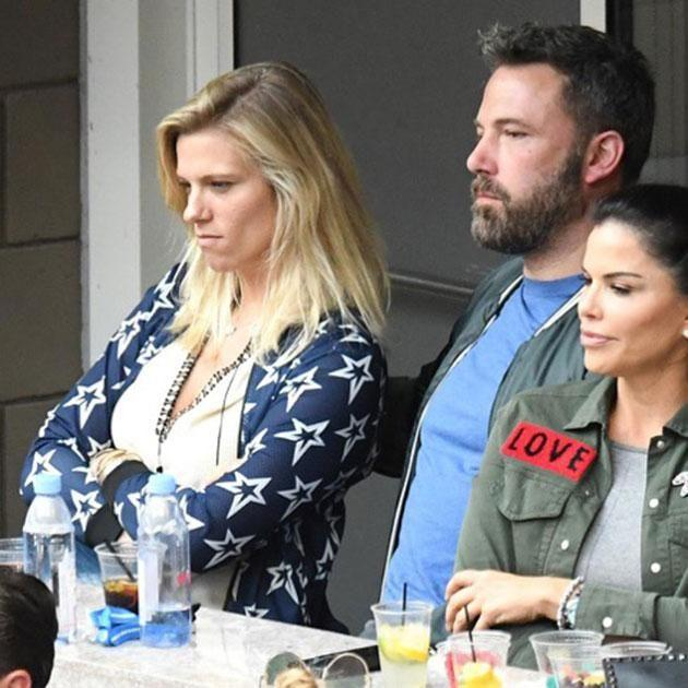 The couple were spotted at the US Open over the weekend. Source: Mega