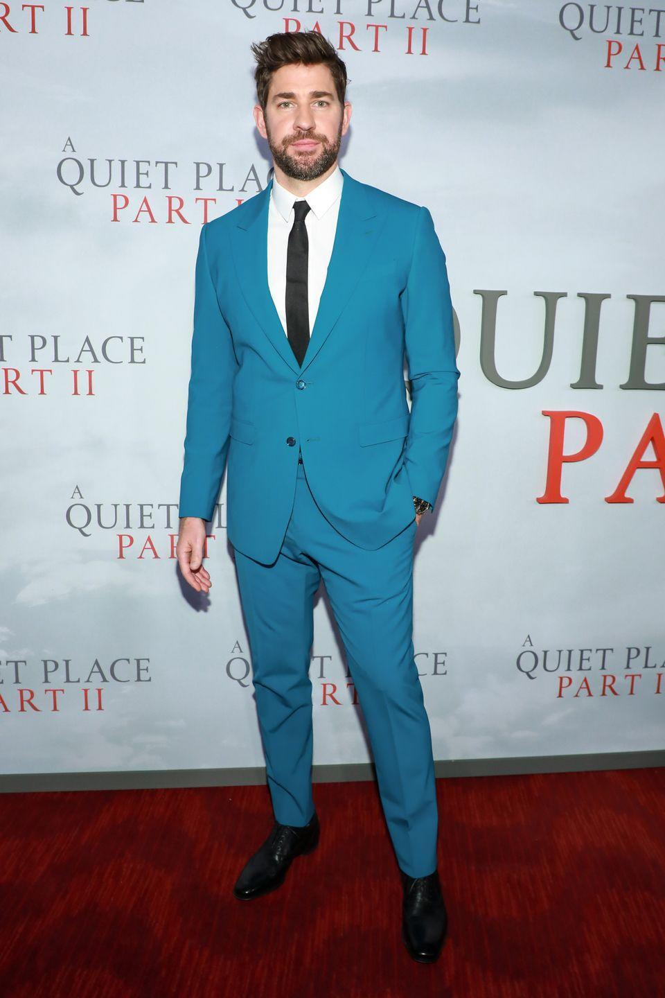 <p>Krasinski graduated from Brown University in 2001 with a degree in English, four years before he starred in <em>The Office</em>. </p>