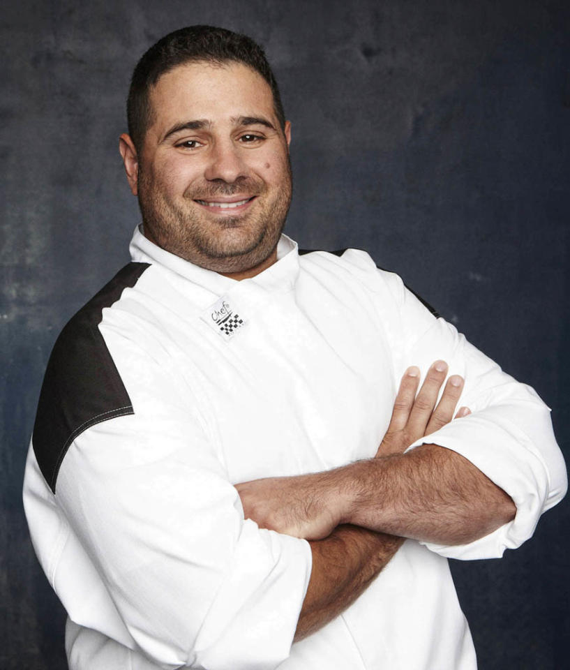 """HELL'S KITCHEN: Christian Rosati (Boston, MA) is a contestant on Season 11 of """"Hell's Kitchen."""""""