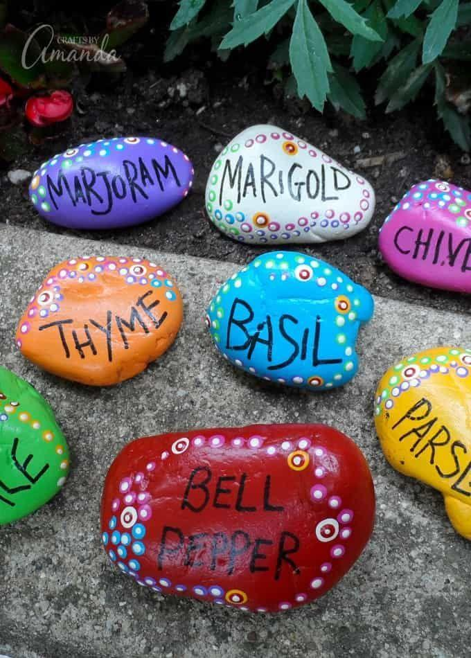 "<p>A gift that's both beautiful and practical, these rocks help Mom remember where she planted her herbs and veggies in her garden. If she's not the green-thumb type, you can use the technique to make a desk paperweight. </p><p><em><a href=""https://craftsbyamanda.com/painted-rock-garden-markers/"" rel=""nofollow noopener"" target=""_blank"" data-ylk=""slk:Get the tutorial at Crafts By Amanda »"" class=""link rapid-noclick-resp"">Get the tutorial at Crafts By Amanda »</a></em></p>"