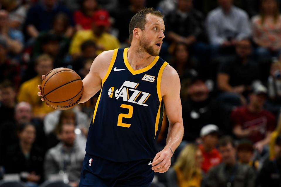 Utah's resurgence has coincided with Joe Ingles' move back into the starting lineup. (Alex Goodlett/Getty Images)
