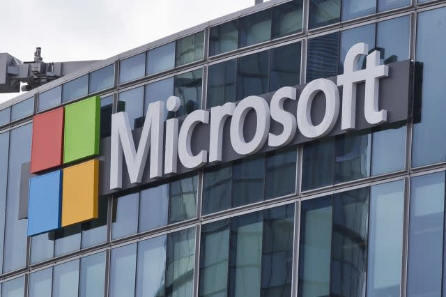 Microsoft ups prices as pound plunges