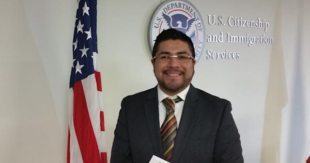 Lawyer Cristian Minor, who now counsels immigrants, became a U.S. citizen in 2015.