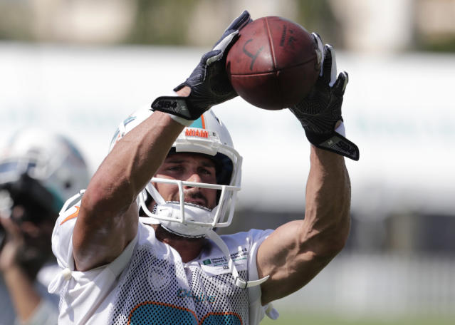 If he stays healthy, Danny Amendola is a terrific late-round option in PPR leagues. (AP)