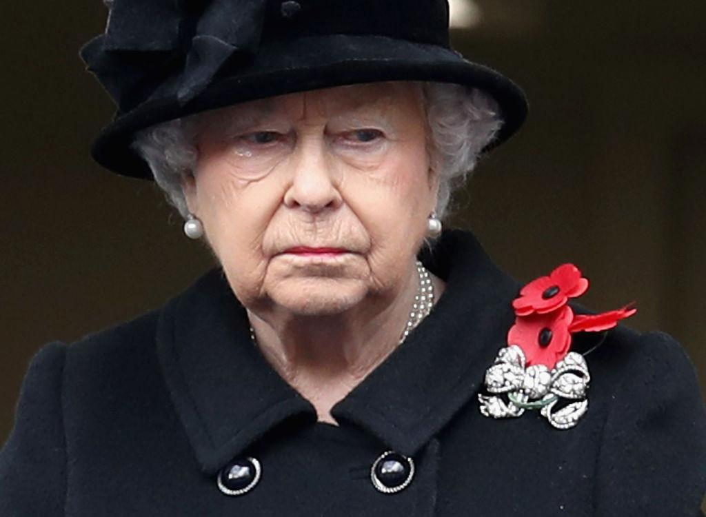 <p>Meanwhile, this year marked the first time that Queen Elizabeth II, 91, watched the service from a balcony rather than perform her sacred duty and lay a wreath. Traditionally, the monarch lays the wreath to honour Britain's war dead — but she had Prince Charles lay the wreath on her behalf… <em>(Photo: Getty)</em> </p>