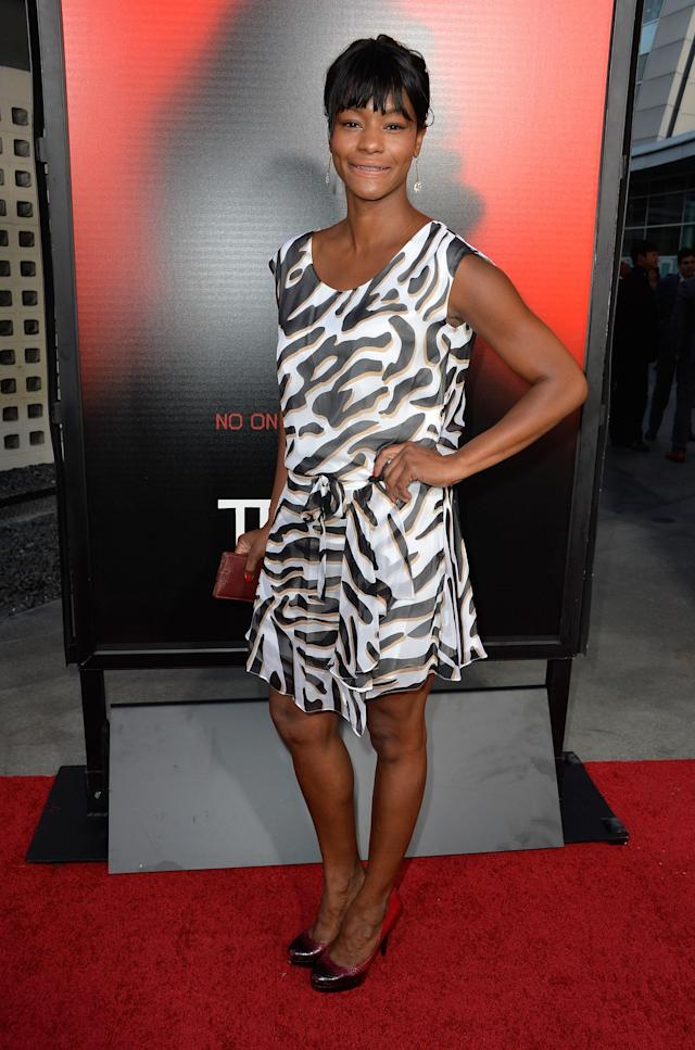 HOLLYWOOD, CA - JUNE 11: Actress Sufe Bradshaw attends the premiere of HBO's 'True Blood' Season 6 at ArcLight Cinemas Cinerama Dome on June 11, 2013 in Hollywood, California. (Photo by Frazer Harrison/Getty Images)