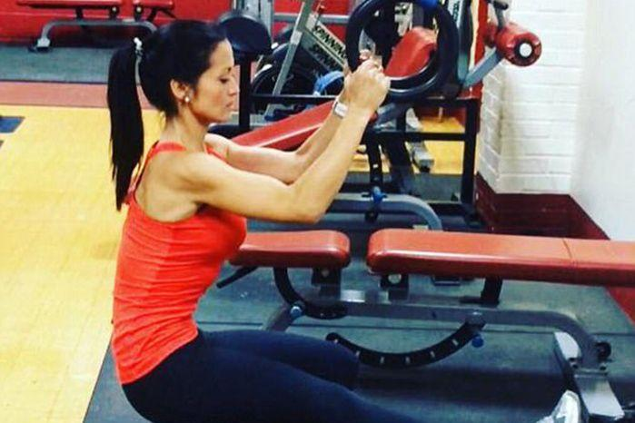 The 30-year-old personal trainer looked the image of health at the time of her diagnosis. Source: Facebook