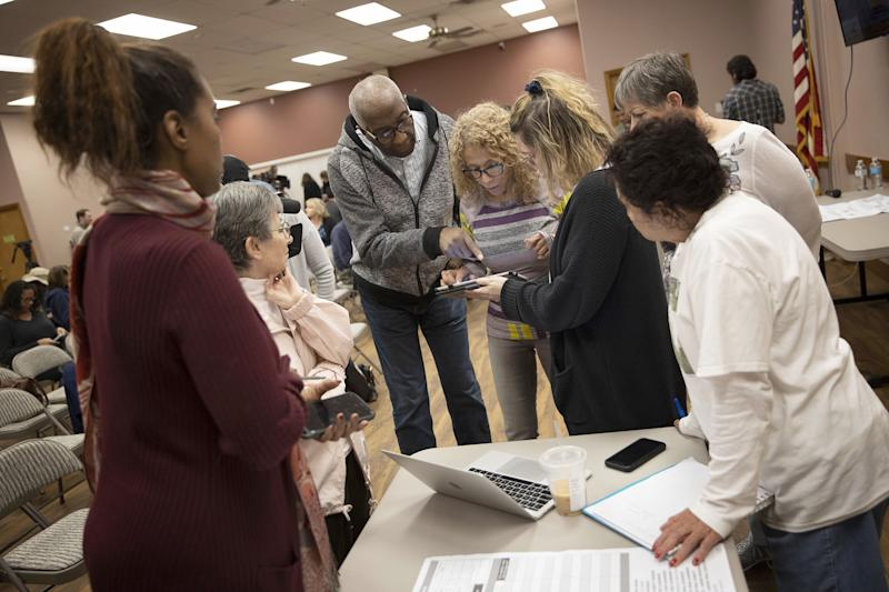 NBC entrance poll: Nevada's Democratic electorate the most diverse yet