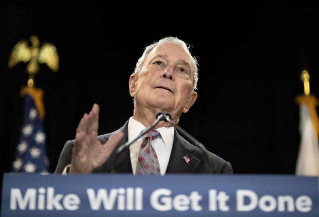 Former New York City Mayor Michael Bloomberg. (David Goldman/AP)