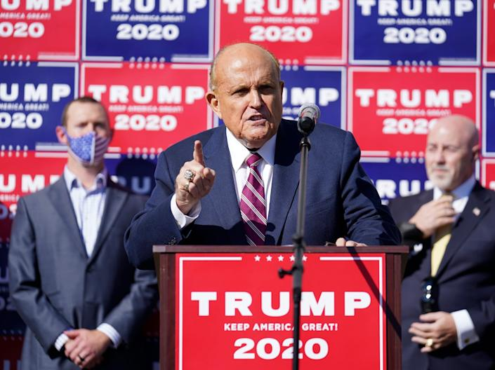 rudy giuliani four seasons