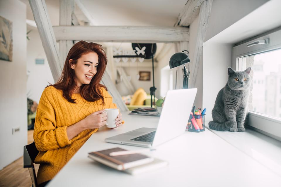 Some 11.8 million Brits do not want to go back to a 'normal way of working in an office environment with normal office hours,' according to a study. Photo: Getty