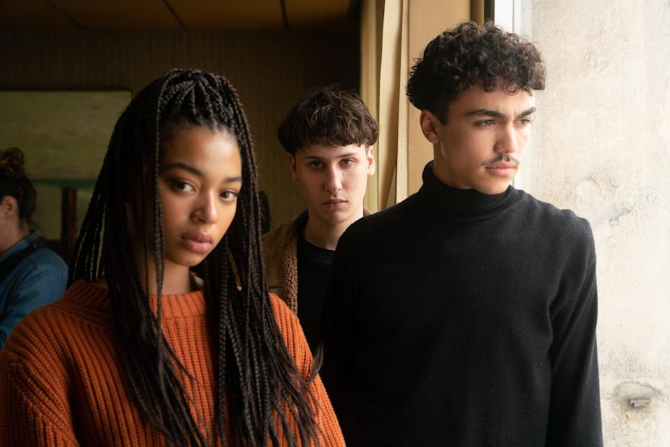 """<p>In this dark French series, a trio of teenagers - Sofiane, Victor, and Luisa - find themselves bound together by a supernatural force, and together, they attempt to figure out what happened to Sofiane's missing brother. Of course, in between solving crimes and testing out their new powers, the teens must contend with the usual high school drama. We're still standing by for news on a potential second season. </p> <p><a href=""""http://www.netflix.com/title/80241539"""" class=""""link rapid-noclick-resp"""" rel=""""nofollow noopener"""" target=""""_blank"""" data-ylk=""""slk:Watch Mortel on Netflix now"""">Watch <strong>Mortel</strong> on Netflix now</a>.<br></p>"""