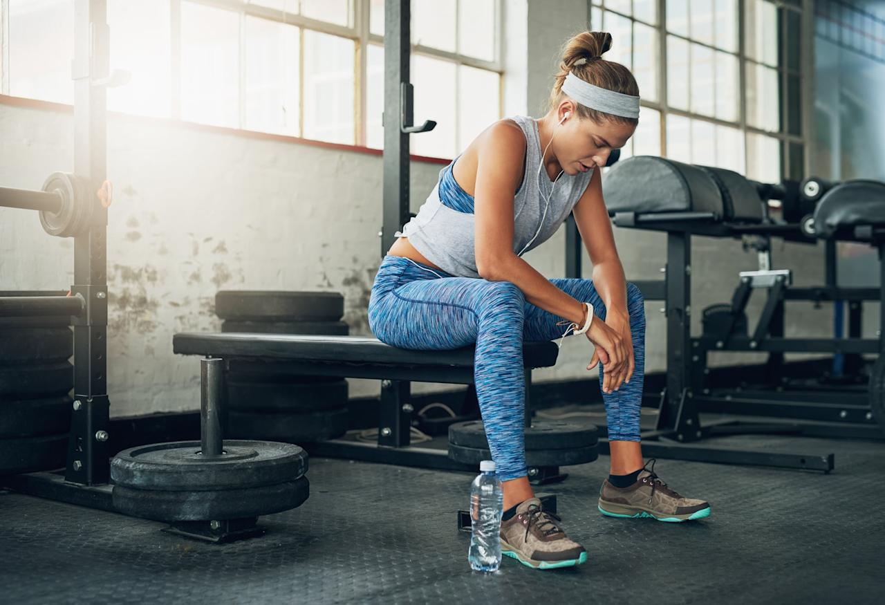 """<p>All the strength workouts should be performed as <a href=""""https://www.popsugar.com/fitness/photo-gallery/45098952/image/45098964/Styles-Techniques"""" class=""""ga-track"""" data-ga-category=""""Related"""" data-ga-label=""""https://www.popsugar.com/fitness/Fitness-Terms-Everyone-Should-Know-45098952#photo-45098964"""" data-ga-action=""""In-Line Links"""">supersets</a>. A superset is when you do two exercises back-to-back taking little to no rest in between moves. An example of this would be doing 10 reps of <a href=""""https://www.popsugar.com/fitness/photo-gallery/45516733/image/45516754/Barbell-Squat"""" class=""""ga-track"""" data-ga-category=""""Related"""" data-ga-label=""""https://www.popsugar.com/fitness/photo-gallery/45516733/image/45516754/Barbell-Squat"""" data-ga-action=""""In-Line Links"""">barbell squats</a> immediately followed by 10 reps of <a href=""""https://www.popsugar.com/fitness/photo-gallery/7501338/image/7501917/Basic-Push-Up"""" class=""""ga-track"""" data-ga-category=""""Related"""" data-ga-label=""""https://www.popsugar.com/fitness/photo-gallery/7501338/image/7501917/Basic-Push-Up"""" data-ga-action=""""In-Line Links"""">push-ups</a>.<br></p> <p>I've also included <a href=""""https://www.popsugar.com/fitness/List-Compound-Exercises-45678748"""" class=""""ga-track"""" data-ga-category=""""Related"""" data-ga-label=""""https://www.popsugar.com/fitness/List-Compound-Exercises-45678748"""" data-ga-action=""""In-Line Links"""">compound exercises</a>, which are exercises that work multiple groups of muscle like <a href=""""https://www.popsugar.com/fitness/Deadlift-Variations-40400480"""" class=""""ga-track"""" data-ga-category=""""Related"""" data-ga-label=""""https://www.popsugar.com/fitness/Deadlift-Variations-40400480"""" data-ga-action=""""In-Line Links"""">deadlifts</a>, into each workout. I do this because they give you the most bang for your buck and help you burn more calories and fat because they require more energy to perform.</p>"""
