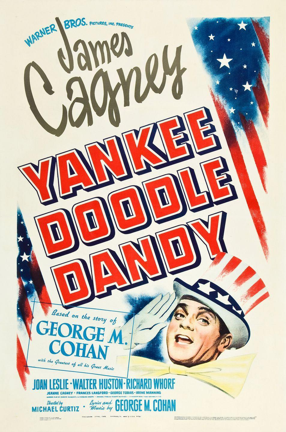 """<p>In case the movie poster didn't tip you off, this is a patriotic movie that's perfect for the 4th of July. <em>Yankee Doodle Dandy </em>is about the exciting life of George M. Cohan, a musical composer, playwright, actor, and dancer. <br><br> <a class=""""link rapid-noclick-resp"""" href=""""https://www.amazon.com/Yankee-Doodle-Dandy-James-Cagney/dp/B003X94LH8/ref=sr_1_1?tag=syn-yahoo-20&ascsubtag=%5Bartid%7C10070.g.36156094%5Bsrc%7Cyahoo-us"""" rel=""""nofollow noopener"""" target=""""_blank"""" data-ylk=""""slk:STREAM NOW"""">STREAM NOW</a></p>"""