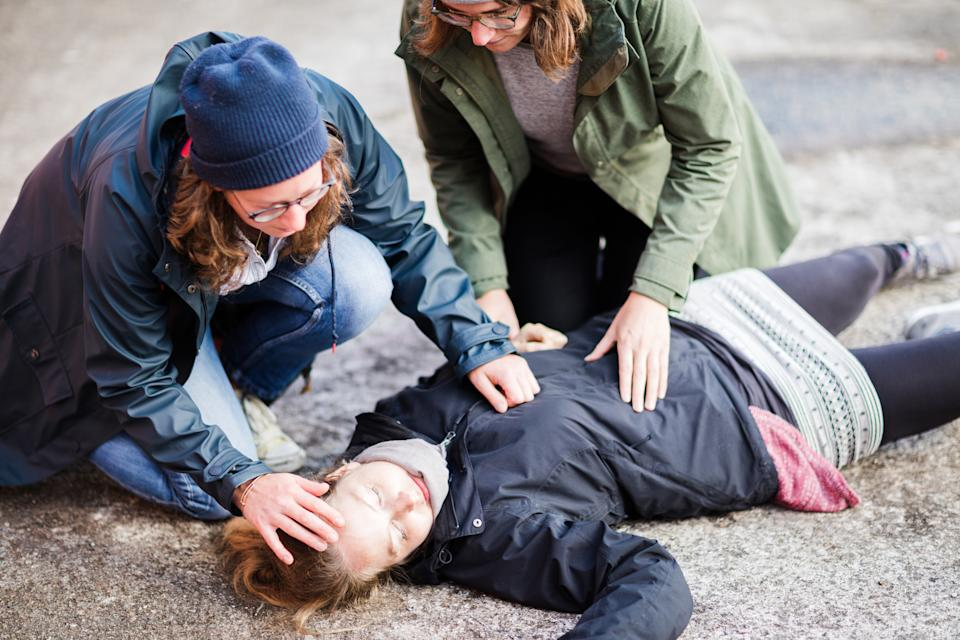 People don't feel as comfortable resuscitating women. Image: Getty