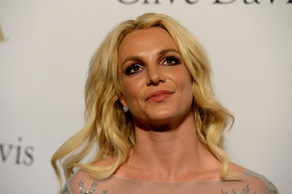 Britney Spears, 39, posted a set of topless photos on Instagram as she battles for control against her conservatorship. (Photo: Scott Dudelson/Getty Images)