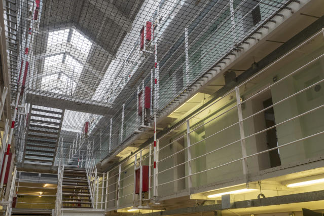 The Government is currently working on emergency plans for prisons, according to a new report (Picture: Getty)