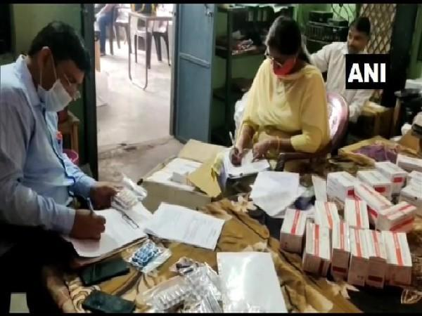 Visuals of illegal drugs seized by Moradabad Police