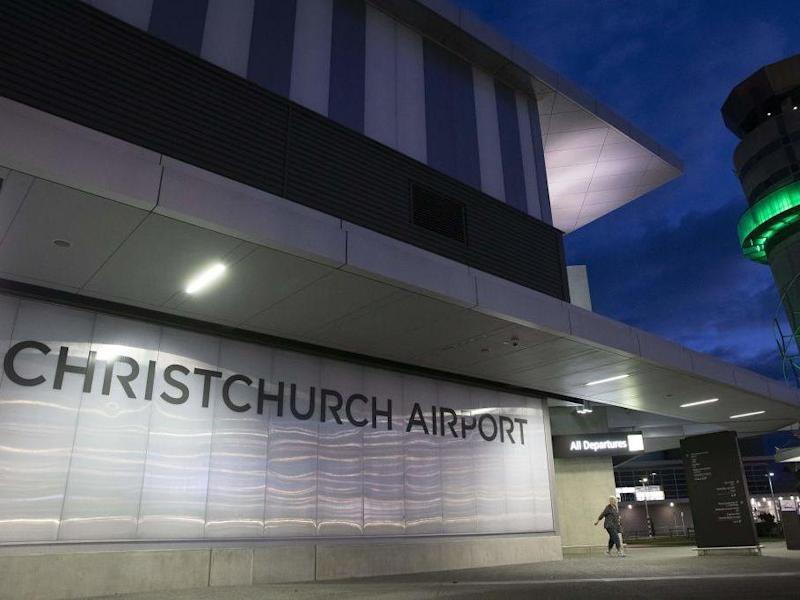 Two of the new cases arrived separately at Christchurch Airport on 20 June: AFP/Getty