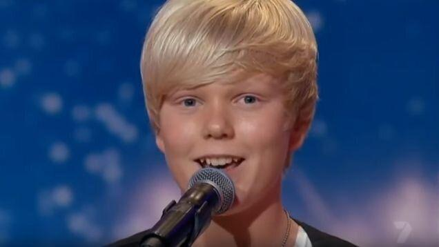 The Voice's Jack Vidgen has revealed why he had to leave Australia after finding fame on Australia's Got Talent. Photo: Channel Nine