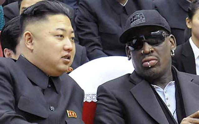 Dennis Rodman has visited North Korean supreme leader Kim Jong Un a handful of times. (Getty Images)