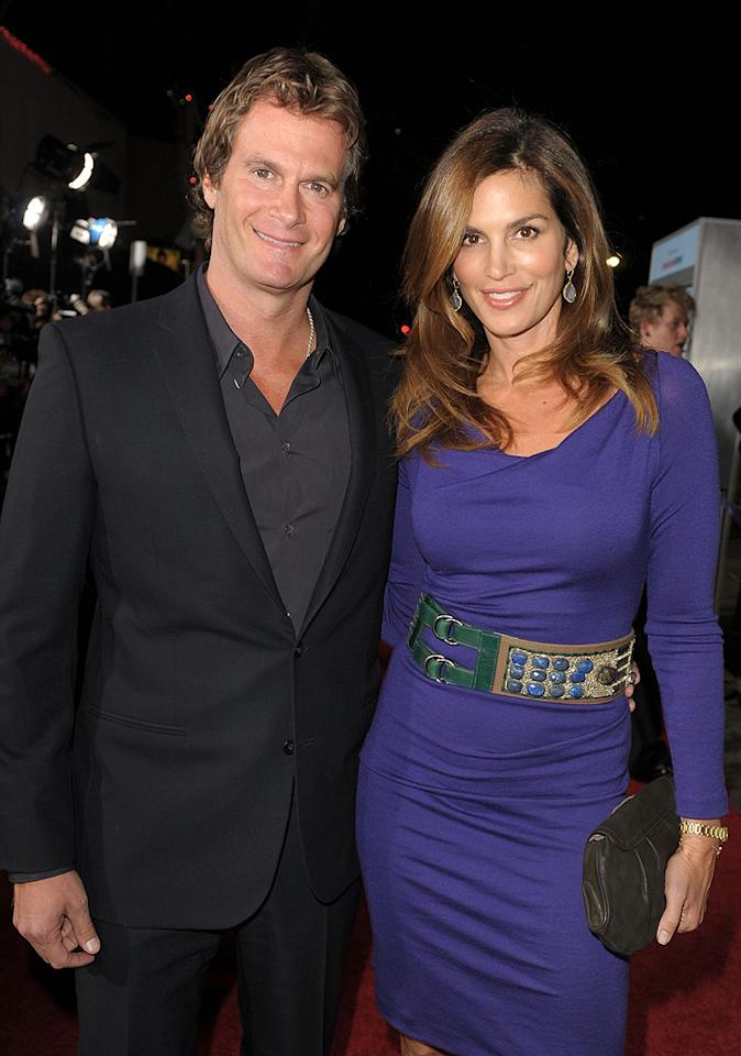 """Rande Gerber and <a href=""""http://movies.yahoo.com/movie/contributor/1800172527"""">Cindy Crawford</a> at the Los Angeles premiere of <a href=""""http://movies.yahoo.com/movie/1810062520/info"""">Up in the Air</a> - 11/30/2009"""