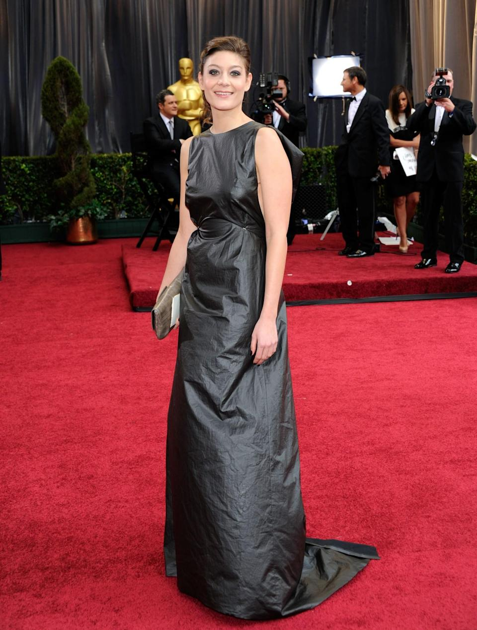 <p>There certainly wasn't a shortage of bin bags in 2012. <em>[Photo: Ethan Miller/Getty]</em> </p>