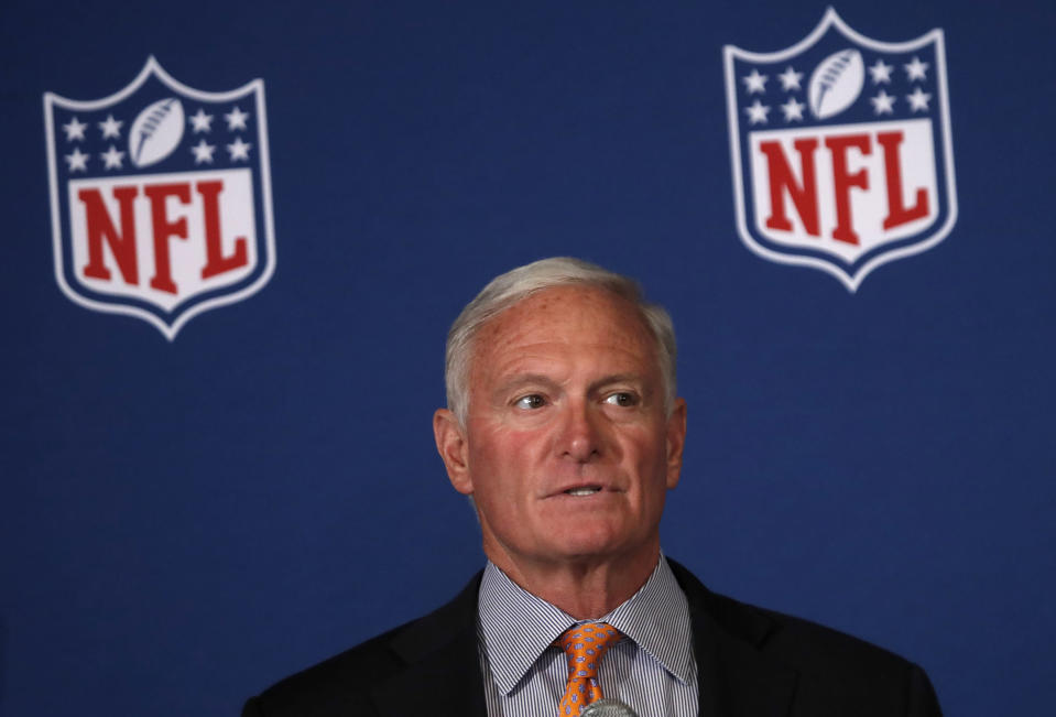 Cleveland Browns owner Jimmy Haslam, who is also CEO of Pilot Flying J truck stops, ended an advertising agreement with ESPN after a story about the Browns' dysfunction. (AP)