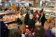 "<p>If you're trying to avoid the notorious lines, shop on Tuesday or Wednesday. According to a <a href=""https://www.reddit.com/r/IAmA/comments/3kfbyt/iama_mate_manager_at_trader_joes_ask_me_anything/cuwzf4k/"" rel=""nofollow noopener"" target=""_blank"" data-ylk=""slk:Trader Joe's manager on Reddit,"" class=""link rapid-noclick-resp"">Trader Joe's manager on Reddit,</a> those are the best days to get in and out without crowds. Mornings are always quiet as well. </p>"