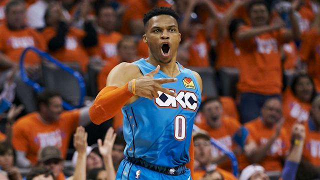Russell Westbrook is reportedly happy to leave the Oklahoma City Thunder after they let Paul George go. We look at where he could end up.