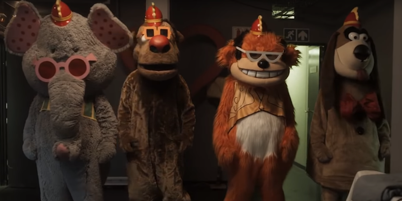 Trailer: BANANA SPLITS MOVIE is Rated R for Horror Violence and Gore