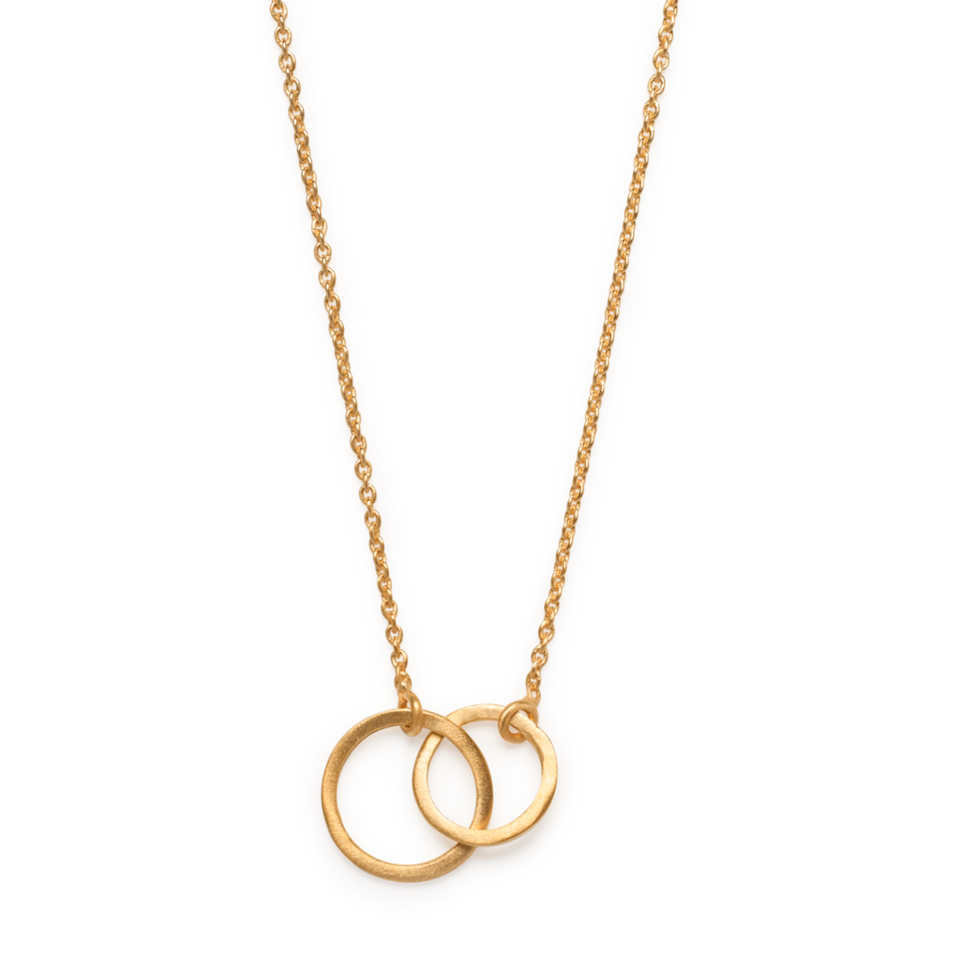 """I just love the simplicity of this necklace and So Just Shop does lots for positive social change. <br><br><strong>So Just Shop</strong> Gold 'Kavita' Necklace, $, available at <a href=""""https://frankly.store/collections/jewellery/products/gold-kavita-necklace"""" rel=""""nofollow noopener"""" target=""""_blank"""" data-ylk=""""slk:Frankly"""" class=""""link rapid-noclick-resp"""">Frankly</a>"""