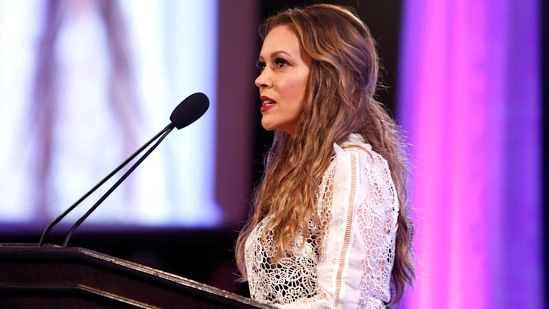Alyssa Milano Says She's Been Sexually Harassed 'More Times Than I Can Count': 'It Stops Here'