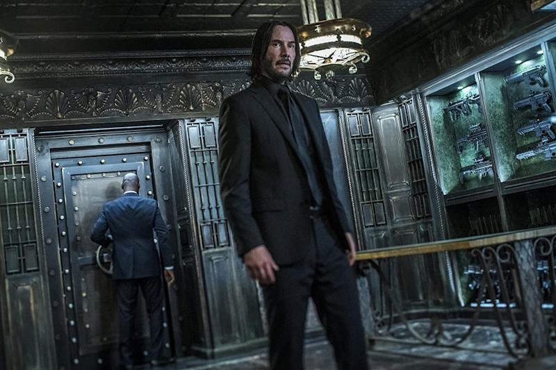 Keanu Reeves standing strong as John Wick (Image by Lionsgate)