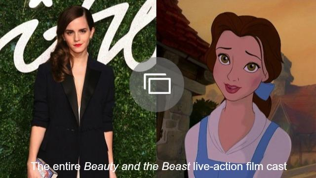 beauty and the beast slideshow