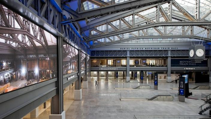 The new Penn Station concourse, located in the Farley Post Office, has been a long time coming